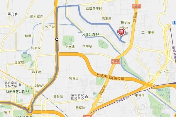 青岛新机场高速路线图