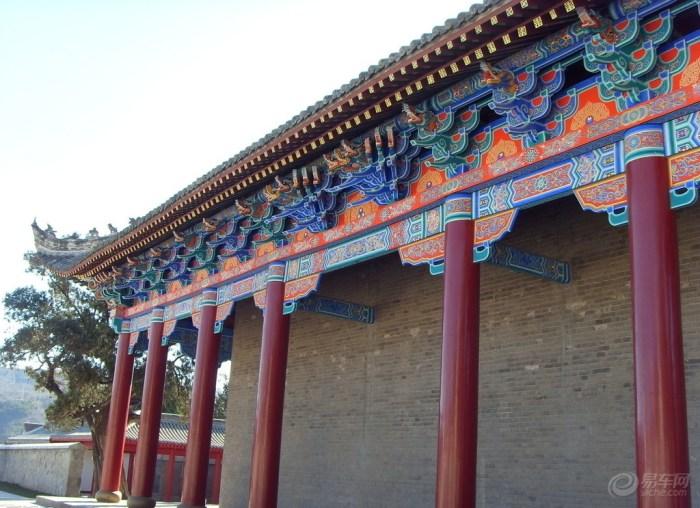 黄帝陵图片