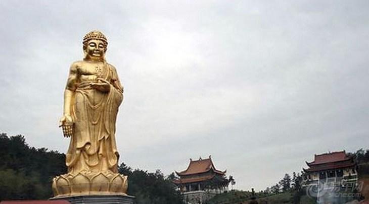 游子山风景区位居高淳县中部